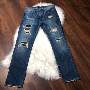 Levis 511 Distressed Jean for Men's